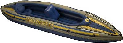 INTEX INTEX68306E CHALLENGER K2 KAYAK KIT, GEARNET