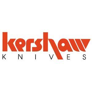 KERSHAW K1445 HALF TON, RED FRN HANDLE W/BLACK SANTOPRENE INSERT, PLAIN