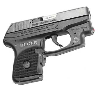 CRIMSON TRACE LG-431 RUGER LCP POLY LASERGUARD, OM FA