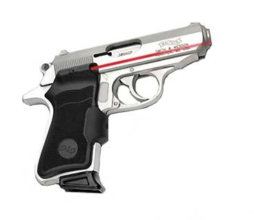 CRIMSON TRACE LG-480 WALTHER PPK/S /PP POLY GRIP OM FA