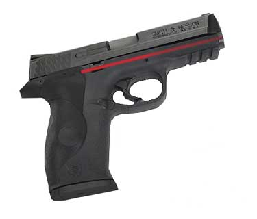 CRIMSON TRACE LG-660 S&W M&P, FULL POLY OM REAR ACT