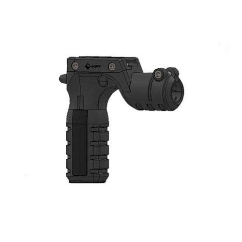 Mission First Tactical RTG React Torch & Vertical Grip Blk