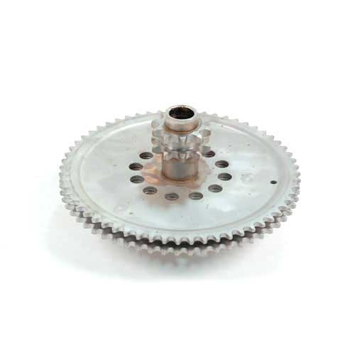 MTD 04529 SPROCKET ASSEMBLY-DBL
