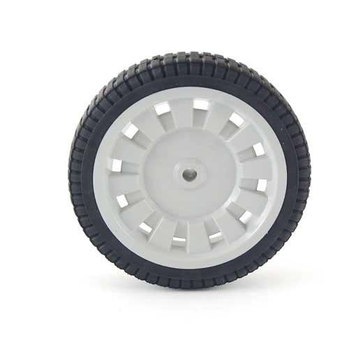 "Mtd 734-1781 8"" x 1.75"" Slot Gray Wheel"