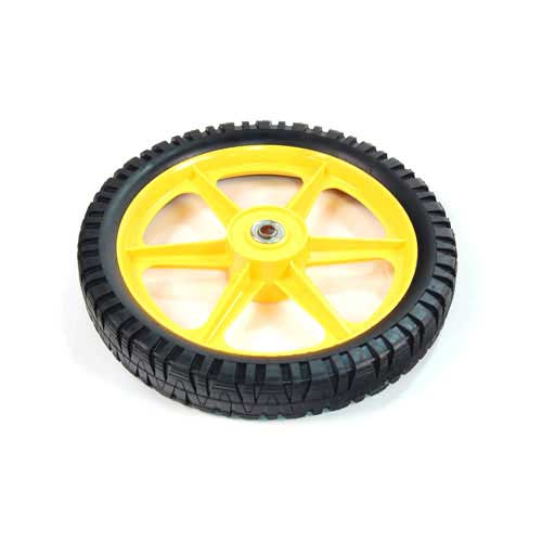 Mtd 734-2043 Complete Wheel Assembly 14 x 2.125 - Yellow