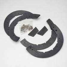 Mtd 753-0613 Snow Thrower Auger Rubber Replacement Kit
