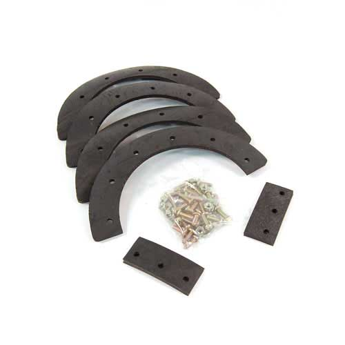 Mtd 753-0669 Snow Thrower Auger Rubber Replacement Kit