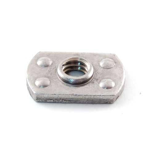 Mtd 912-0414 Flat Weld Nut, 1/4-20