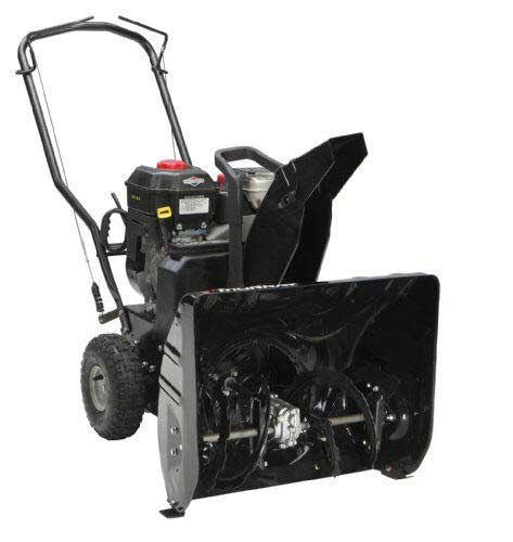 "MURRAY 1695978 24"" DUAL STAGE SNOW THROWER"