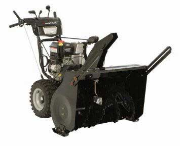 "MURRAY 1696031 33"" DUAL STAGE SNOW THROWER"