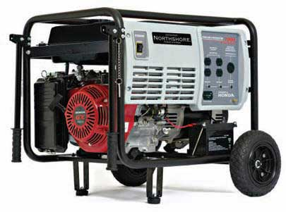 NORTHSHORE NS7000E 7000 WATT ELECTRIC GENERATOR