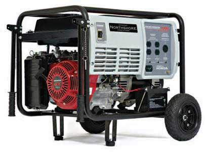 NORTHSHORE NS7000E 7000 WATT ELECTRIC GENERATOR