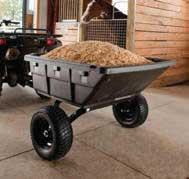 OHIO STEEL OS4048P-HYB PROFESSIONAL GRADE SWIVEL DUMP CART