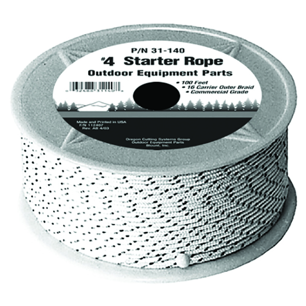 Oregon 31-140 Starter Rope No. 4 100 Ft Premium