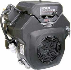 KOHLER PA-62501 CH18S 18HP COMMAND SERIES HORIZONTAL ENGINE WITH PANEL