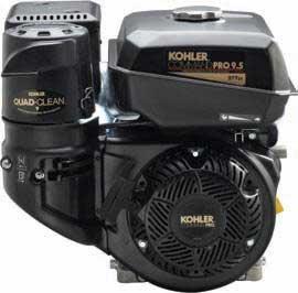 "KOHLER PA-CH395-3011 COMMAND PRO CH395 HORIZONTAL 9.5HP 1"" CRANK"