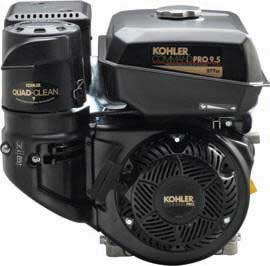 KOHLER PA-CH395-3041 9.5HP HORIZONTAL ENGINE RECOIL-ELEC START
