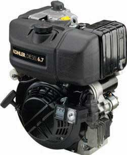 KOHLER PA-KD350-2001 DIESEL AIR-COOLED HORIZONTAL ENGINE