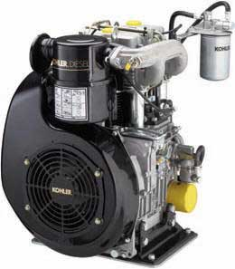 Kohler PA-KD4772-1001 Diesel Air-Cooled Horizontal Engine