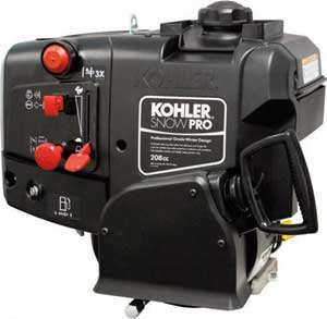KOHLER PA-WH208-0004 SNOW PRO WH208 6 HP HORIZONTAL ENGINE