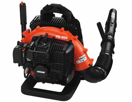 Echo pb 500h 50 8cc backpack blower with hip mounted throttle