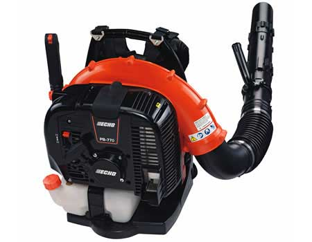 ECHO PB-770H 63.3cc BACKPACK BLOWER WITH HIP MOUNTED THROTTLE