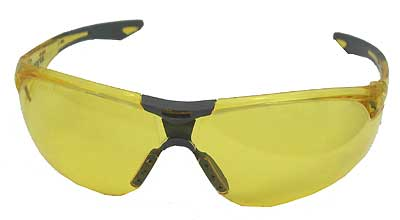 ELVEX R-SG-18A AVION SAFETY GLASSES, AMBER