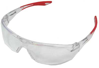 ELVEX R-SG-18C AVION SAFETY GLASSES, CLEAR