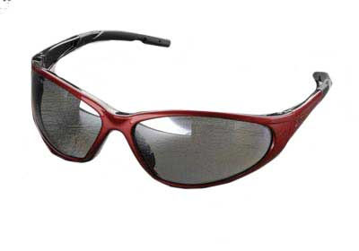 ELVEX R-SG-24M XTS SAFETY GLASSES, SILVER MIRROR