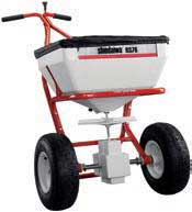 SHINDAIWA RS76 BROADCAST SPREADER, REPLACES RS75