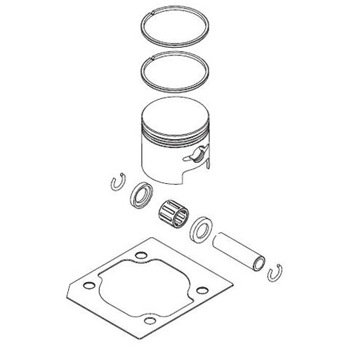 SHINDAIWA 60114-98310 PISTON ASSEMBLY
