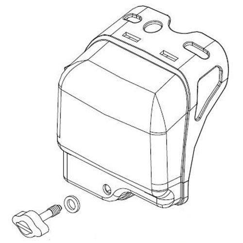 SHINDAIWA A232000640 CLEANER COVER ASSEMBLY