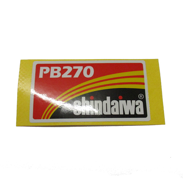 SHINDAIWA X504003320 TRADE LABEL