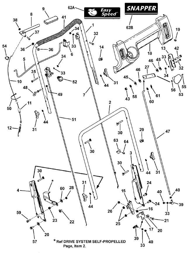snapper p217019bv parts diagram sn all