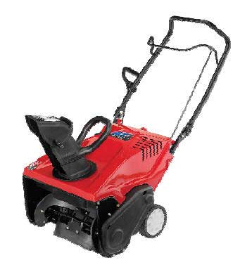 "TROY-BILT SQ210R 21"" SQUALL SINGLE-STAGE SNOW THROWER"