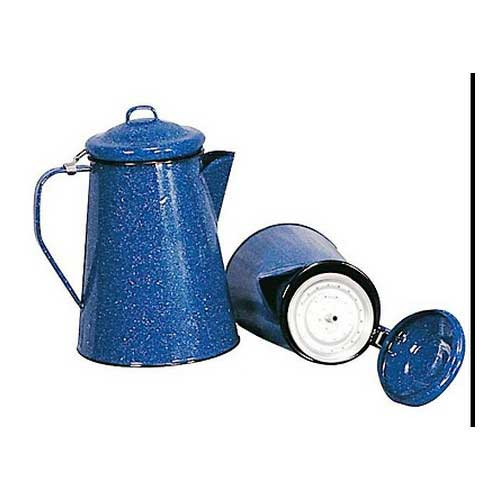 STANSPORT STANSPORT10346 ENAMEL COFFEE POT 12 CUP W/PERC