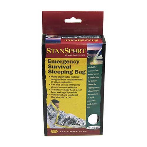 STANSPORT STANSPORT649 EMERGENCY SURVIVAL SLEEPING BAG