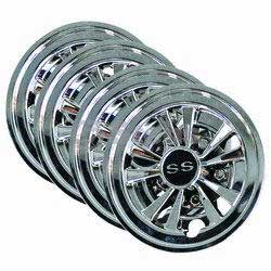 "Stens 051-362 8"" Hub Cap for Club Car and EZ-Go"
