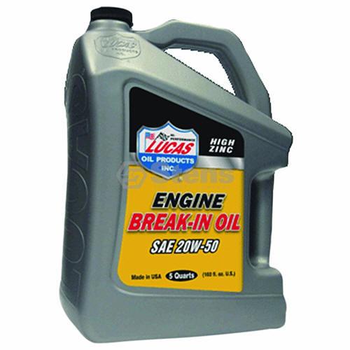 STENS 051-758 Lucas Oil Break-in Oil