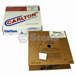 Stens 095-225 Carlton Chain Reel 25 Ft 3/8Lp, .043, S-Chis Reduced Kick
