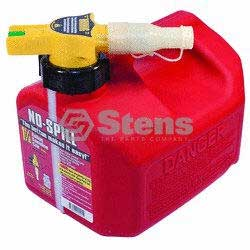 STENS 765-100 1 1/4 Gallon No-spill Gasoline Fuel Can