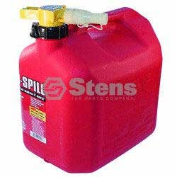 STENS 765-104 5 GALLON GASOLINE NO-SPILL FUEL CAN