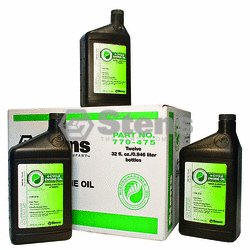 STENS 770-475 Stens Bio 4-Cycle Engine Oil 10W30-SJ Wt, Twelve 32 oz. Bottle