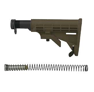 TAPCO STK09161-OD AR T6 COLLAPSIBLE STOCK, OD