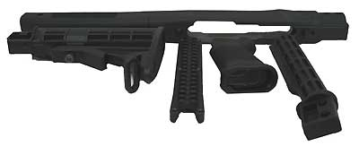 TAPCO STK63160-BK INTRAFUSE 10/22 RIFLE SYS, BLACK