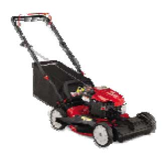TROY-BILT TB210 SELF-PROPELLED, 1 SPEED, FRONT WHEEL DRIVE MOWER
