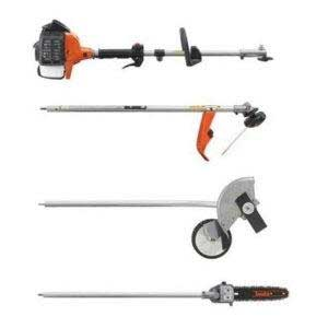 TANAKA TBC-255SFK PRO 25CC POWER HEAD, TRIMMER, EDGE AND POLE SAW
