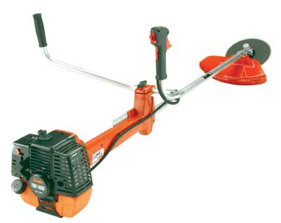 TANAKA TBC-600 STAIGHT SHAFT DUAL HANDLE BRUSHCUTTER