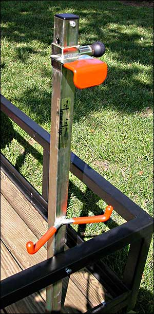 TrimmerTrap ST-2 Blower Rack (holds STIHL 550 & 600 blowers)
