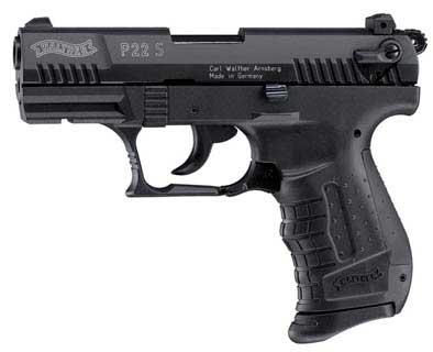 UMAREX UMAREX225-2700 BLANK, WALTHER P22 S 9MM PAK BLK